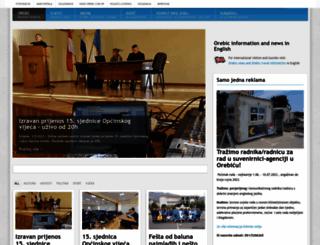 orebic.com.hr screenshot