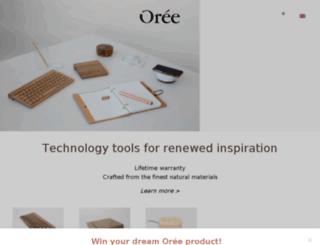 oree-design.myshopify.com screenshot