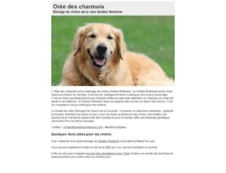 oreedescharmois.com screenshot