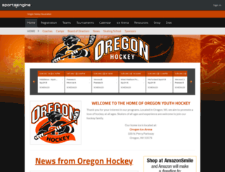 oregon.pucksystems2.com screenshot