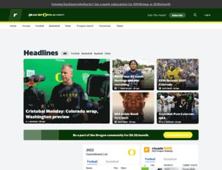 oregon.rivals.com screenshot