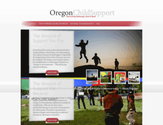 oregonchildsupport.com screenshot
