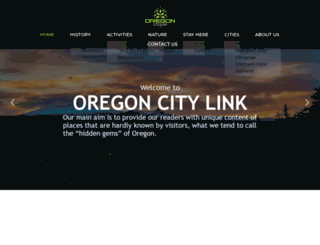 oregoncitylink.com screenshot