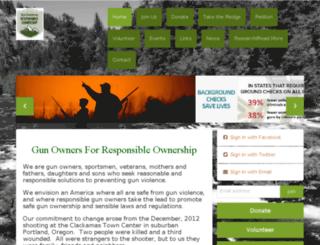 oregongunsafety.nationbuilder.com screenshot