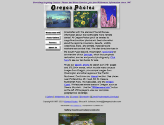 oregonphotos.com screenshot