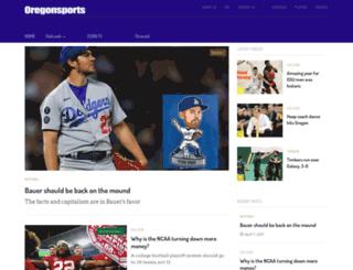 oregonsports.com screenshot