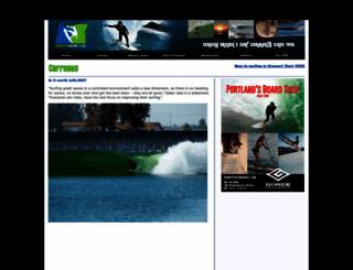 oregonsurf.com screenshot