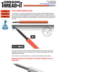 oregonthreadit.com screenshot