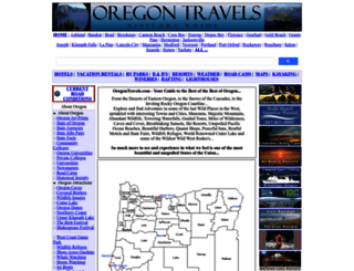 oregontravels.com screenshot