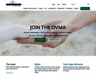 oregonvma.org screenshot