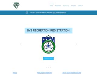 oremyouthsoccer.com screenshot