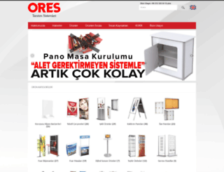 ores.com.tr screenshot