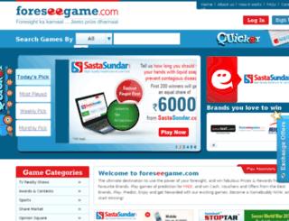 oreseegame.com screenshot