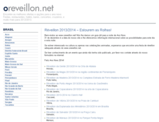 oreveillon.net screenshot