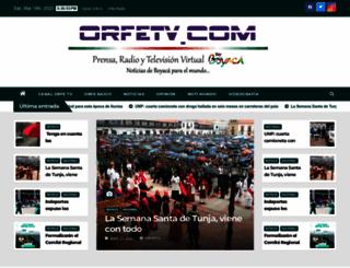 orfetv.com screenshot