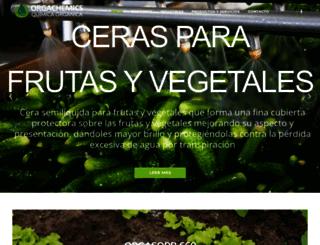 orgachemics.com screenshot
