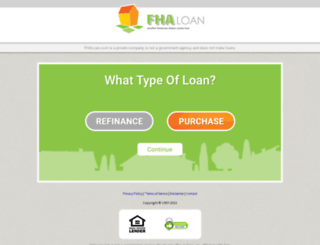 organic.fhaloan.com screenshot