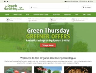 organiccatalog.com screenshot