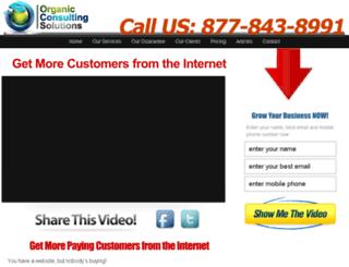 organicconsultingsolutions.com screenshot