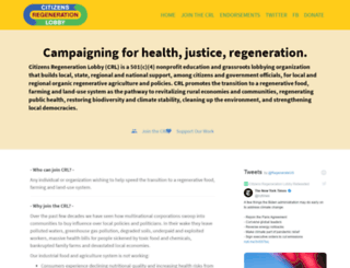 organicconsumersfund.org screenshot