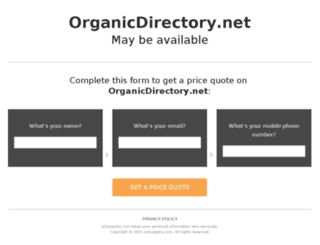organicdirectory.net screenshot