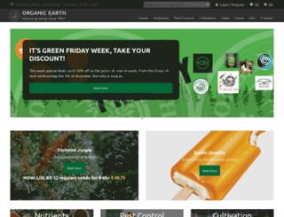 organicearth.nl screenshot