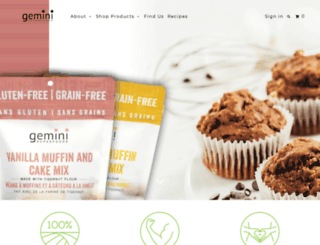 organicgemini.com screenshot