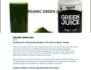 organicgreenjuice.mystrikingly.com screenshot