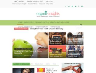 organicinsights.in screenshot