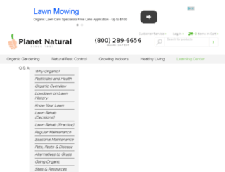 organiclawncare101.com screenshot