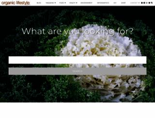 organiclifestylemagazine.com screenshot