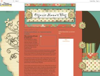organicmamasblog.blogspot.com screenshot