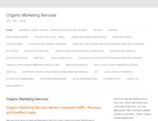 organicmarketingservices.com screenshot