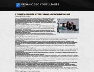 organicseoconsultants.co.uk screenshot