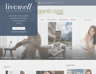 organicspamagazine.com screenshot