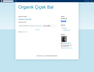 organikcicekbal.blogspot.com screenshot