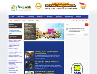 organiknusantara.com screenshot