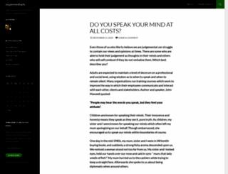 organisedlady.wordpress.com screenshot