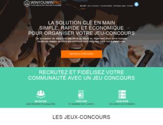 organiser-un-jeu-concours.com screenshot
