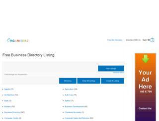 organiserz.com screenshot