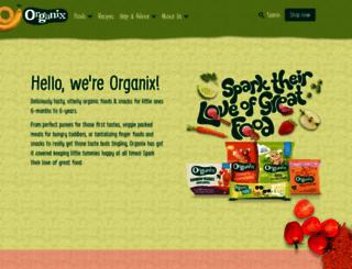 organix.com screenshot