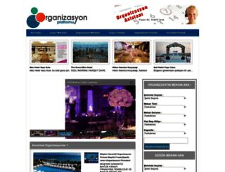 organizasyonplatformu.com screenshot