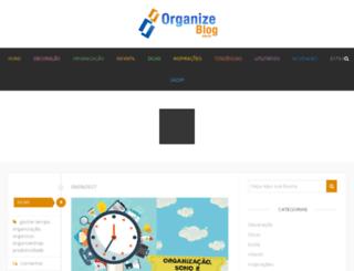 organizeblog.com.br screenshot