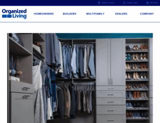 organizedliving.com screenshot