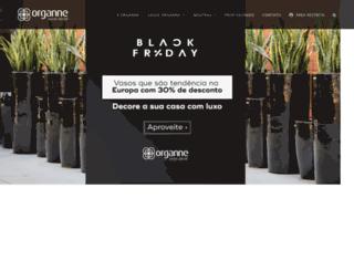 organne.com.br screenshot