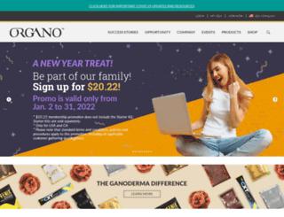 organogoldmedia.com screenshot
