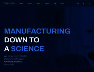 organomation.com screenshot