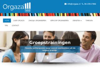 orgaza.nl screenshot