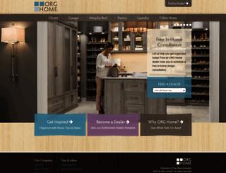 orghome.com screenshot