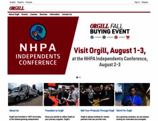orgill.com screenshot